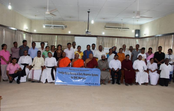 Early warning workshop in Colombo