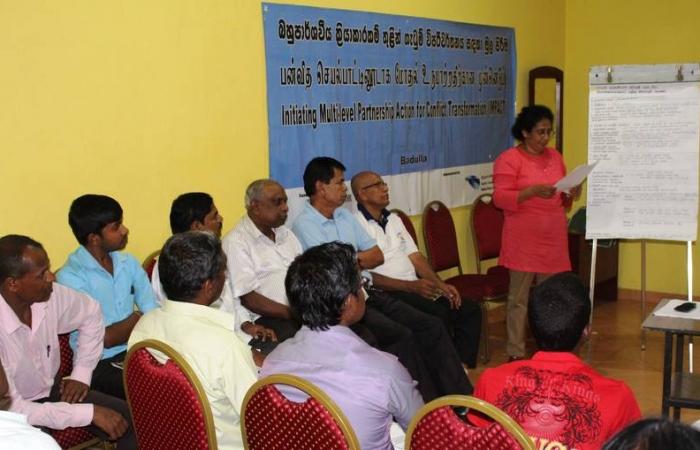 Meeting of Badulla DIRC