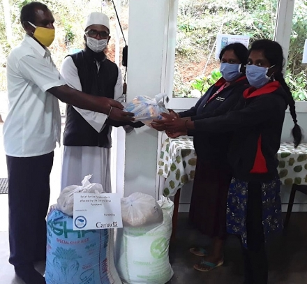 Bringing Relief to Elders and Children in Nuwara Eliya