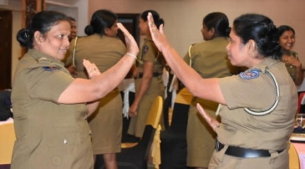 Women Police Officers Learn to Deal With Human Rights Abuse Victims